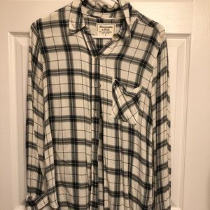 Abercrombie & Fitch flannel